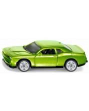 Метална количка Siku Private cars - Спортен автомобил Dodge Challenger SRT Hellcat, 1:55