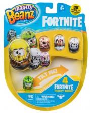 Игрален комплект Moose Mighty Beanz - Бобчета Fortnite, сет от 4 броя -1