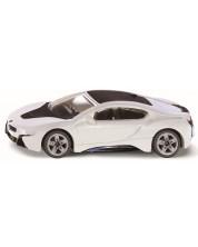 Метална количка Siku Private cars - Спортен автомобил BMW i8