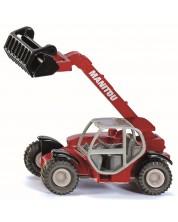 Метална количка Siku Agriculture - Телескопичен товарач Manitou -1