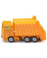 Метална количка Siku Super - Камион за събиране на смет