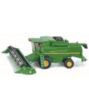 Метална количка Siku Farmer - Комбайн John Deere 9680i, 1:87