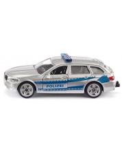Метална играчка Siku - Полицейски автомобил BMW