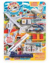 Игрален комплект RS Toys - Самолет и обслужващи машини -1