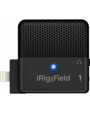 Микрофон IK Multimedia - iRig Mic Field, черен -1
