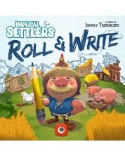Настолна игра Imperial Settlers: Roll & Write - семейна