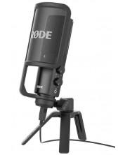 Микрофон RODE - NT USB, черен -1