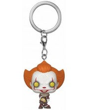 Ключодържател Funko Pocket Pop!  IT: Chapter 2 - Pennywise with Beaver Hat -1