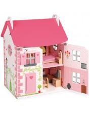 Дървена къща за кукли Janod - Къща за кукли -1
