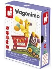 Детска игра Janod - Вагонимо -1