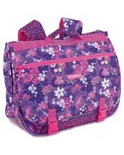 Класическа ученическа чанта с презрамки Gabol Jasmine -1