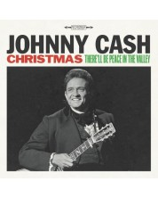 Johnny Cash -  Christmas: There'll Be Peace in the Vall (Vinyl) -1