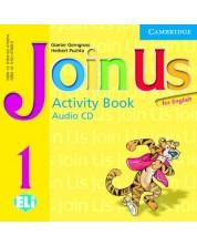 Join Us for English 1: Английски език - ниво Pre-A1 (CD с упражнения от тетрадката)