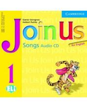 Join Us for English 1: Английски език - ниво Pre-A1 (CD с песни)