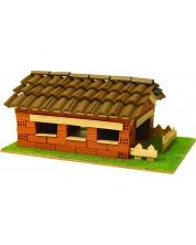 Сглобяем модел Domus Kits - Къща с истински тухли, комплект за начинаещи 7