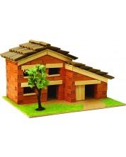 Сглобяем модел Domus Kits - Къща с истински тухли, комплект за начинаещи 8