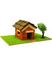 Сглобяем модел Domus Kits - Къща с истински тухли, комплект за начинаещи 2