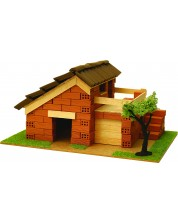 Сглобяем модел Domus Kits - Къща с истински тухли, комплект за начинаещи 6