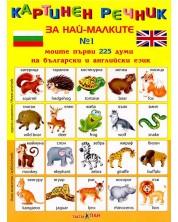 Картинен речник за най-малките №1: Моите първи 225 думи на български и английски език -1