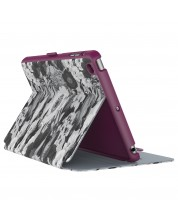Калъф Speck iPad Mini 4 StyleFolio Vintage Bouquet Grey/Nickel Grey/Boysenberry Purple