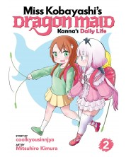 Miss Kobayashi's Dragon Maid, Kanna's Daily Life: Vol. 2 -1