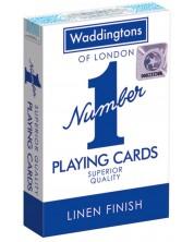Карти за игра Waddingtons - Classic Playing Cards (сини) -1