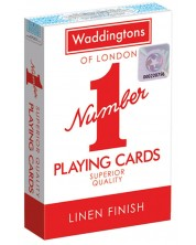 Карти за игра Waddingtons - Classic Playing Cards (червени) -1