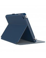Калъф Speck iPad Mini 4 StyleFolio Deep Sea Blue/Nickel Grey