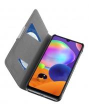 Калъф Celluarline - Book за Samsung Galaxy A31, сив