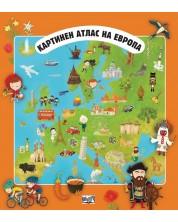 Картинен атлас на Европа + разгъващи се карти -1