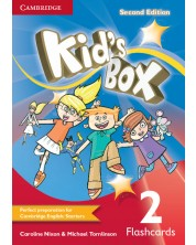 Kid's Box Level 2 Flashcards (Pack of 103)