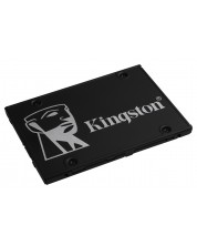 SSD Kingston - KC600, 256GB, 2.5-инчово -1