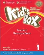 Kid's Box 1: Updated Second edition Teacher's Resource Book / Английски език - ниво Pre-A1: Книга за учителя с онлайн аудио ресурси