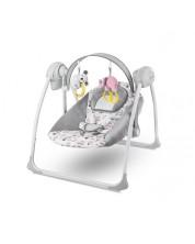 Бебешка люлка 2 в 1 KinderKraft Flo - Розова -1