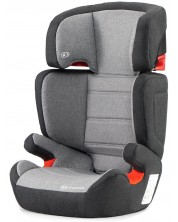 Столче за кола KinderKraft Junior - Сиво, с IsoFix, 15-36 kg -1