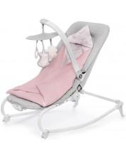 Бебешки шезлонг с вибрация KinderKraft Felio 2020 - С мелодии, розов -1