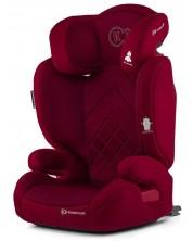 Столче за кола KinderKraft Xpand - Червено, с Isofix, 15-36 kg -1