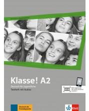 Klasse! A2 Testheft mit Audios -1