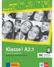 Klasse! A2.1 Kursbuch mit Audios und Videos online -1