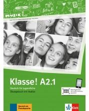 Klasse! A2.1 Ubungsbuch mit Audios -1
