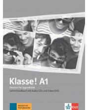 Klasse! A1 Lehrerhandbuch mit Video-DVD und Audio-CDs -1