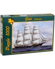 Пъзел Gold Puzzle от 1000 части - Клипер -1