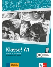 Klasse! A1 Ubungsbuch mit Audios -1