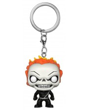 Ключодържател Funko Pocket Pop!: Marvel: Ghost Rider, 4 cm