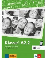 Klasse! A2.2 Ubungsbuch mit Audios -1