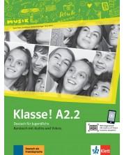 Klasse! A2.2 Kursbuch mit Audios und Videos online -1