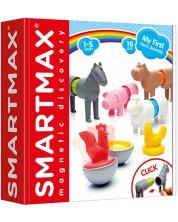 Конструктор SmartMax - Животните от фермата, магнитен