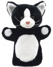 Кукла-ръкавица The Puppet Company Приятели - Коте, в черно и бяло