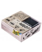 Комплект дървени печати Folia - Еднорог -1