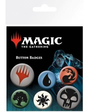 Комплект значки GB eye - Magic The Gathering: Mana Symbols